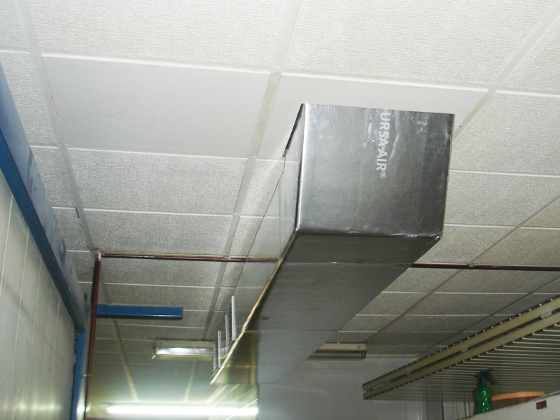 Instalación / conductos de aire