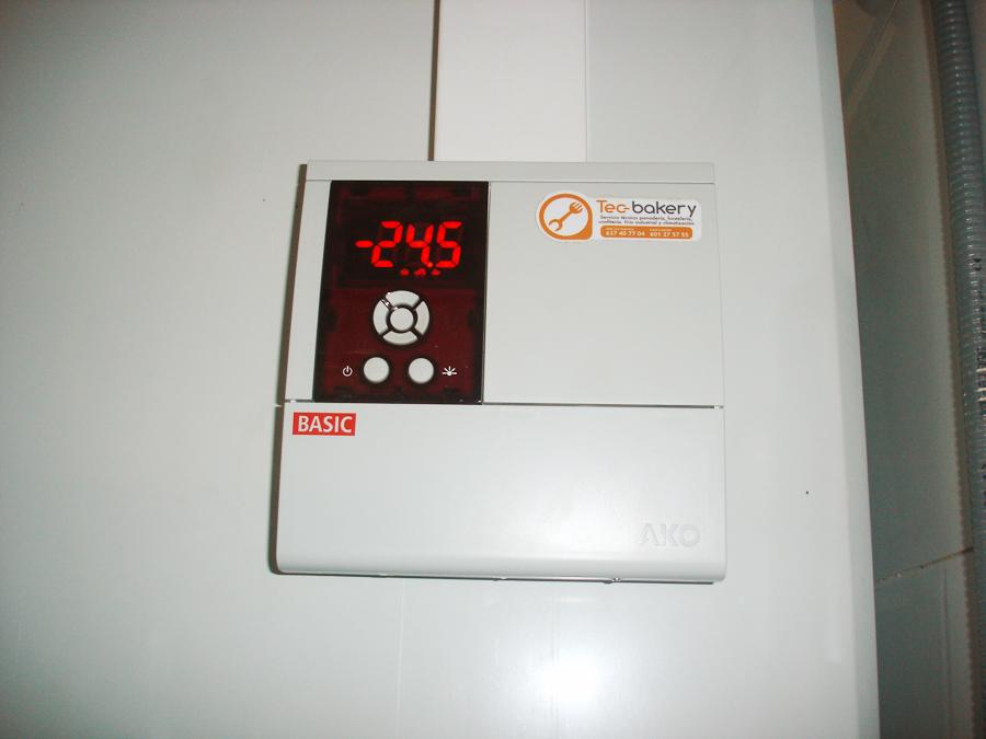 Cámara de congelación -25º
